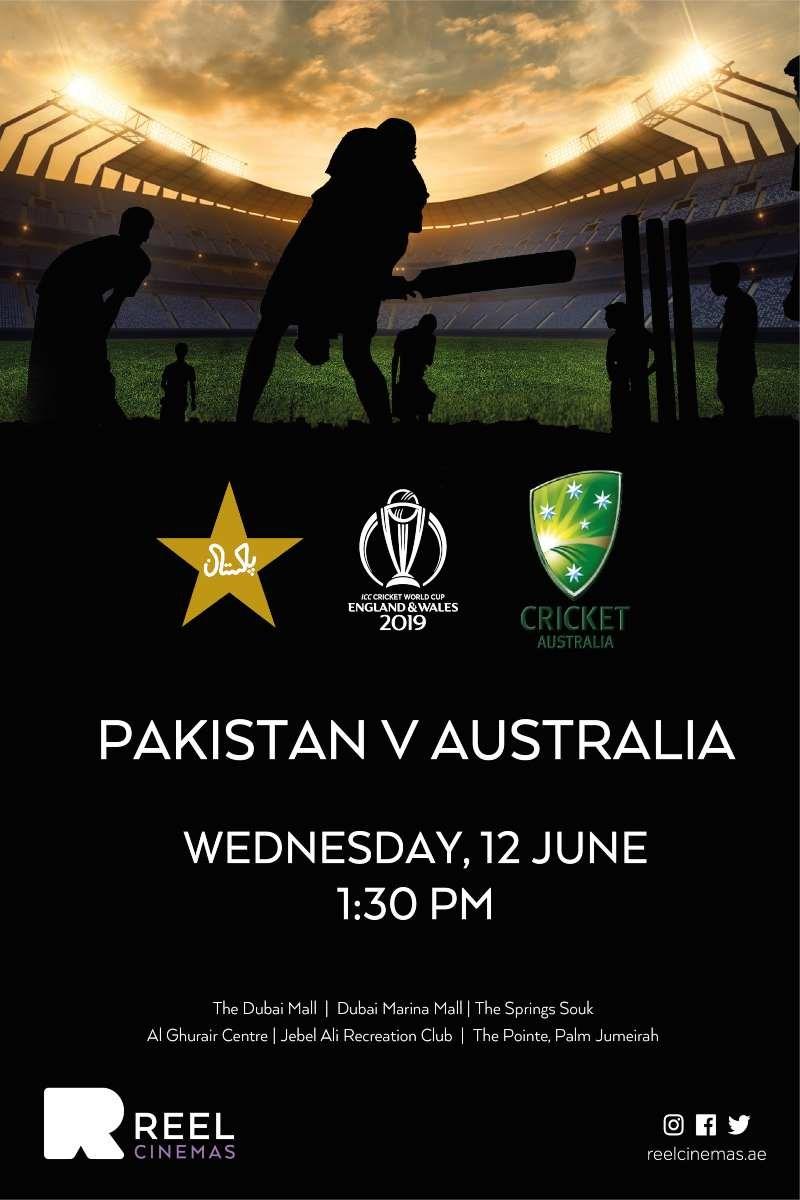 ICC Cricket World Cup Pakistan V Australia